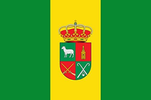 magFlags Bandera Large Pradejón, La Rioja, España | Bandera Paisaje | 1.35m² | 90x150cm