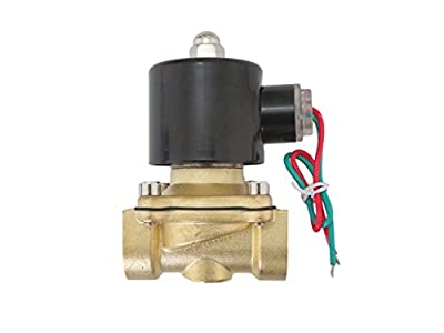 3/4 inch 220V-240V AC VAC Brass Electric Solenoid Valve NPT Gas Water Air N/C from CARBEX