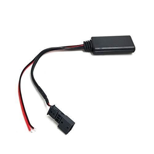 FLLOVE FANGLIANG Adaptador de Audio AUX-IN AUTE Audio BT MÓDULO DE Repuesto para BMW E39 E46 E38 E53 16: 9 Navegación