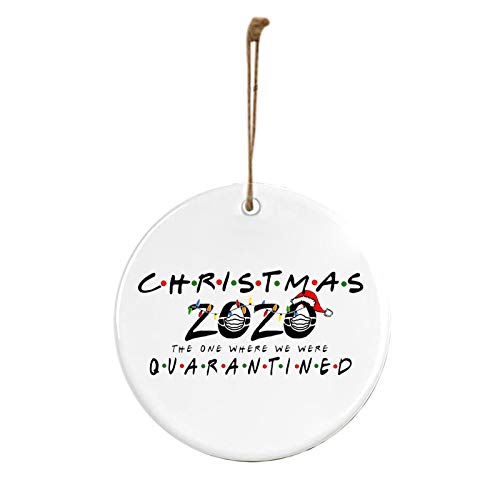 Survived Family Ornament Xmas Tree Hanging Wooden Ornaments Christmas Tree...