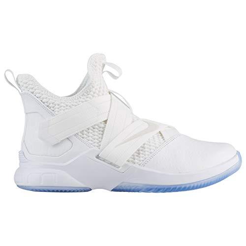 Nike Herren Lebron Soldier XII SFG Fitnessschuhe, Weiß (White/White/White 101), 46 EU