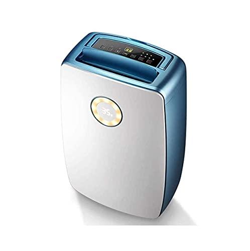 QCSMegy Deshumidificador, Tanque de Agua de 5.5L, Control Inteligente de Humedad, Drenaje Continuo para Sala de Estar/baño/clo et/Dormitorio/baño, deshumidificador Multifuncional