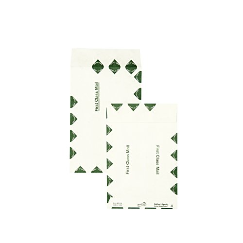 Survivor R1330 Tyvek USPS First Class Mailer, #55, 6 x 9, White (Box of 100)