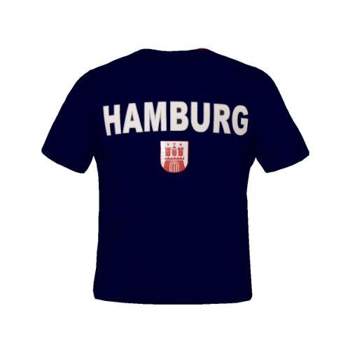 Brubaker \'Hamburg\' T-Shirt Dunkelblau Gr. XL