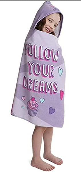 JoJo Siwa Follow Your Dreams Hooded Towel 22 5 X 51