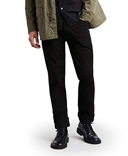 Levi's Men's 513 Stretch Slim Straight Jean, Jet, 34x32