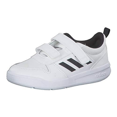 Adidas TENSAUR C, Zapatillas de Running Unisex niño, Blanco (Ftwbla/Negbás/Ftwbla 000), 34 EU