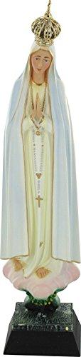 Ferrari & Arrighetti Statue Notre Dame de Fatma Peinte à la