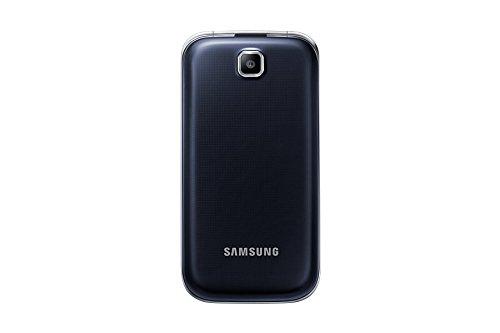 Samsung C3590 2.4' 99.76g Nero Argento Telefono di base – Telefono cellulare, Conchiglia, SIM singola, 6,1 cm (2.4'), 2 MP, 800 mAh, Nero, Argento
