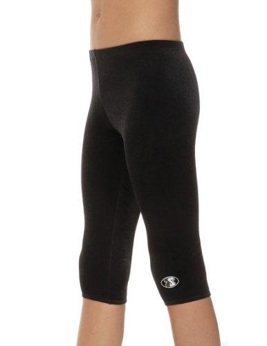 The Zone Z681 3/4 leggings van glad fluweel