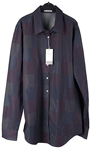 van Laack Carry Damen Bluse Shirt Gr. 34 Blau-Lila Neu