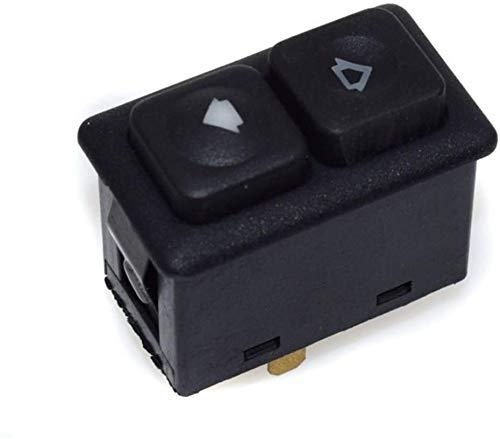 Interruptor de control de ventana de 4 piezas de control de interruptor de ventana de 5 pines para BMW E30 Serie 3 E30 61311381205 interruptor de control de ventana de coche (1 pieza)