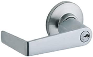 Schlage S51PD SAT 626 16-203 10-001 KD C Tubular Lock, Entrance Function, Saturn Design, Satin Chrome Finish