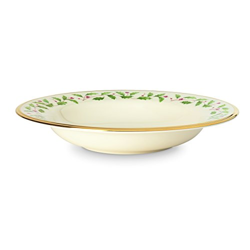 Lenox Holiday Pasta/Rimmed Soup Bowl