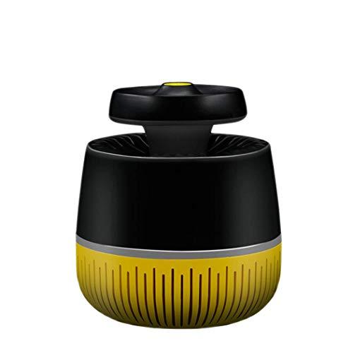 Pkfinrd indoor muggenval: led-uv-licht, ventilator, stralingsvrij – kindveilig, niet giftig, via USB