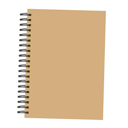 #N/a Cuaderno de bocetos de doble cara, cuaderno de bocetos de tapa dura, Bloc de bocetos en espiral, papel de dibujo duradero, para dibujar pintura de - 21x14.8CM