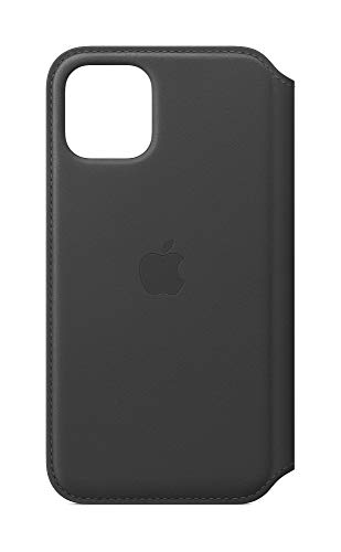 Apple Leather Folio (for iPhone 11 Pro) - Black