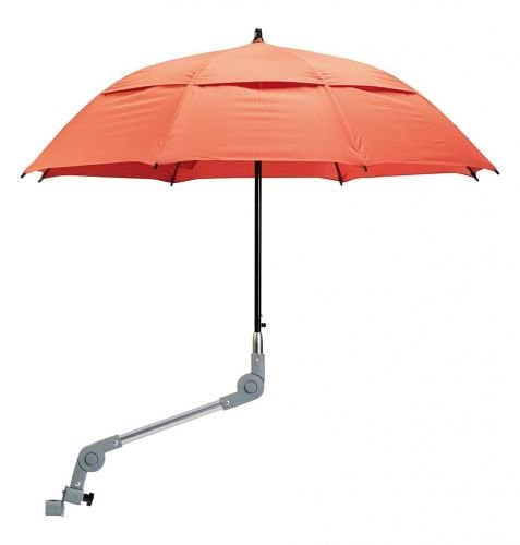 Dietz Rollatorschirm / Regenschirm rot mit Halterung ORIGINAL