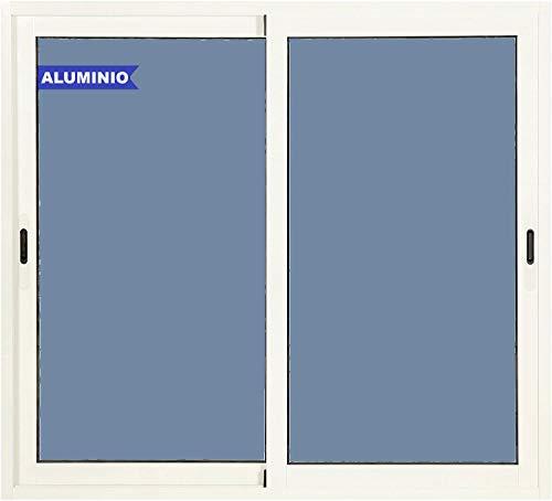 Ventanastock Ventana Aluminio Corredera 1200 ancho x 1000 al