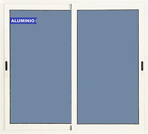 Ventana Aluminio Corredera 1200 ancho x 1000 alto 2 hojas