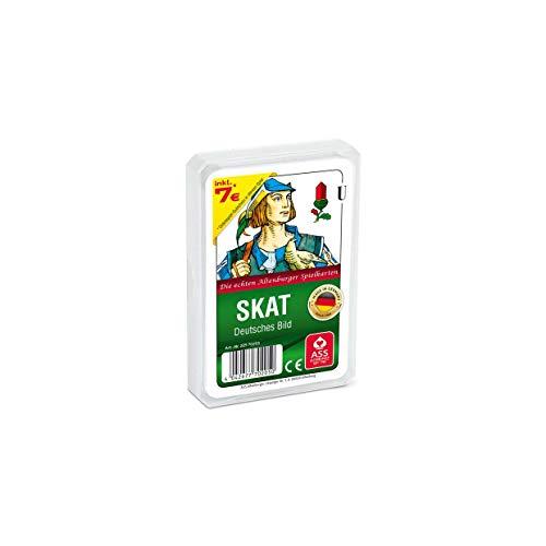 ASS 620.003.7 Altenburger 22570205 - Skat - Deutsches Bild Kornblume, Kartenspiel