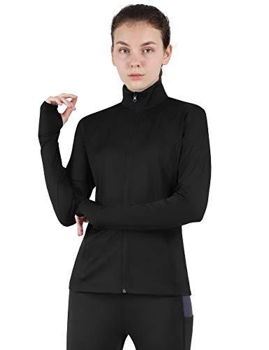 ladies full zip workout jacket