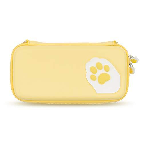 GeekShare Cat Paw Case para Nintendo Switch - Estuche portátil de Viaje...