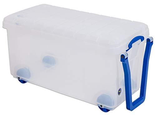 Really Useful Box Große fahrbare Aufbewahrungskiste, 160 l