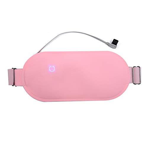 Tragbares Heizkissen für Menstruationsbeschwerden, USB-Menstruationsheizkissen Thermacare Ferninfrarot-Taillenwärmegürtel für Bauch, Bauch, Nacken und Schultern, Linderung von Rückenschmerzen