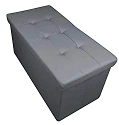 Medium Size When Fully Assembled : 38cm x 38cm x 38cm Large Size When Fully Assembled : 76cm x 38cm x 38cm Max Load : 80kgs When using as a Seat Fabric Face & Coverings : 100% Polyester Fabric & Fillings Conforms To The Furniture & Furnishings (Fire ...