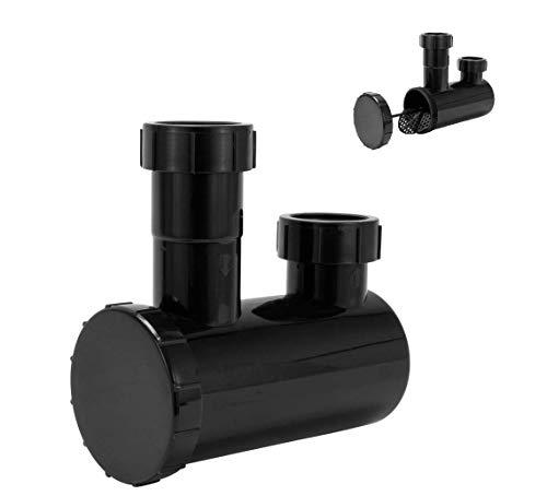 Universal P Trap Shampoo Bowl Sink Hair PVC P Trap Beauty Barber Salon Equipment By Omwah