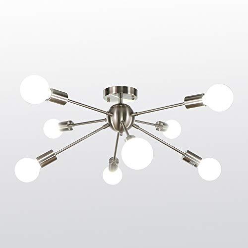 Lámparas De Techo Dormitorio Plata lámparas de techo dormitorio  Marca LynPon