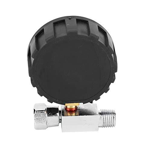 Válvula reguladora de aire, aleación + caucho regulador de presión de aire de 200 PSI interfaz de 1/4 pulg. Para entrada de aire de herramientas neumáticas