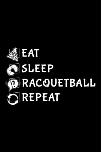 Compare Textbook Prices for Running Log Book - Eat Sleep Racquetball Repeat Player Funny Retro Vintage Meme: Racquetball, Daily and Weekly Run Planner to Improve Your Runs, ... Day By Day Log For Runner & Jogger,Agenda  ISBN 9798492987671 by Running Log Book, Racquetball