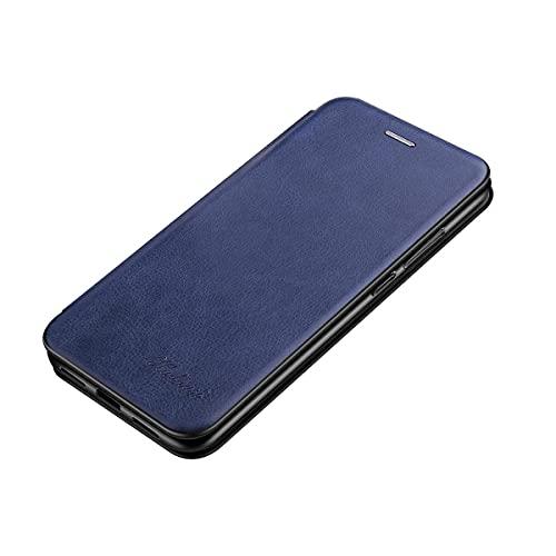 Oihxse Flip con Magnetico Funda Compatible con Xiaomi Mi A2 Lite, Cuero PU Cáscara Protectora + Carcasa Interior de Suave TPU, con Ranura para Tarjeta y Función de Soporte Case