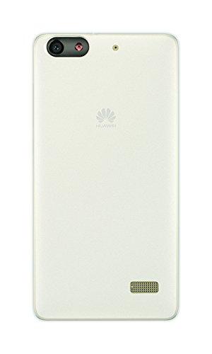 Phonix HUGPMGPW 'Gel Protection Plus' mit Bildschirmschutzfolie für Huawei G Play Mini weiß