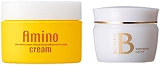 エビス化粧品(EBiS) ビーホワイトクリーム40g & アミノクリーム100g