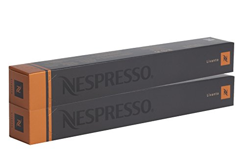 Nespresso OriginalLine: Livanto, 20 Count - 'NOT compatible with VertuoLine' [EU Import]
