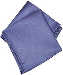 BESTPICKS Men Fashion Satin Solid Pocket Square Hanky Handkerchief Napkin 1 Piece