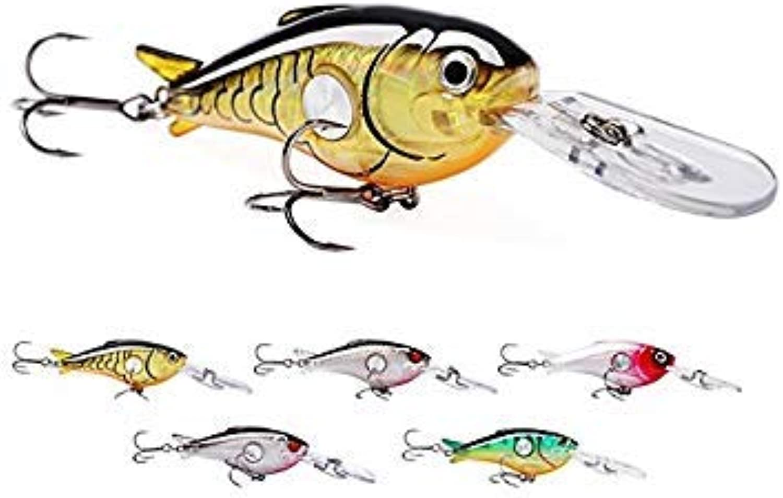 GEOPONICS SeaKnight 5pcs 9cm 10g Wobbler Fishing Lures Hard Biat