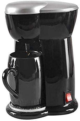 Coffee machine Ekspres do kawy ekspres do kawy, herbaty i kawy Dual Cel Maszyna, maszyna do kawy typu Drip, Mały Automatyczny Automatyczny Gospodarski wielofunkcyjny ekspres do kawy, prezenty dla miło