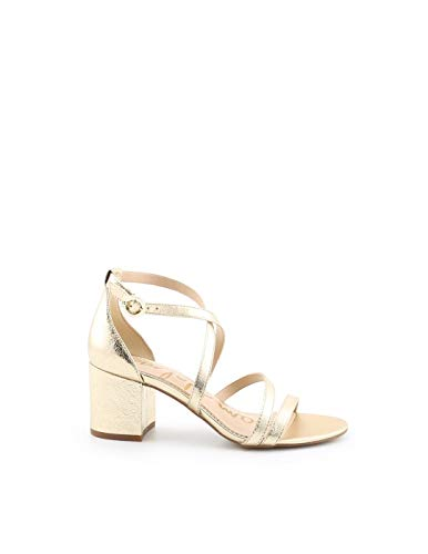 SAM Edelman Luxury Fashion Dames-sandalen, goudkleurig