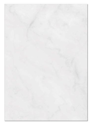 LYSCO Gastronomie Papier (Grau-Marmor, A5, 100 Blatt) für Speisekarten. Marmoriertes Papier, Einseitig bedruckt, für alle Drucker/Kopierer geeignet