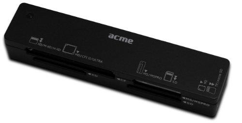 Acme United CR03 USB 2.0 Nero Lettore di schede