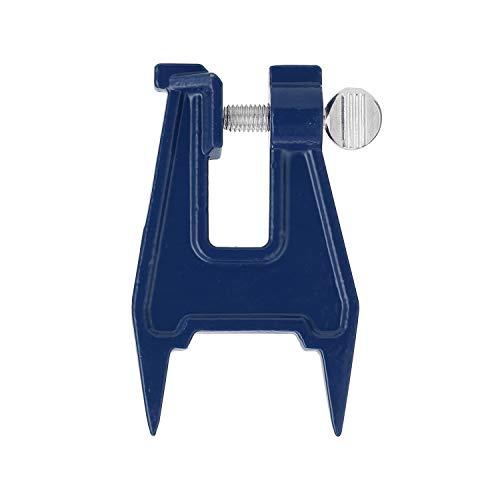 IJzeren kettingzaaggeleider benzine elektrische zaag slijpen kettingzaagstents slijpen van de ketting hulpgereedschap kettingspanner blauw
