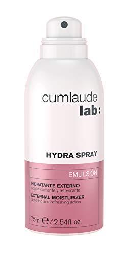CUMililitrosAUDE Emulsión Hydra Spray, Hidratante Vulvar Externo, Calmante y Refrescante, 75 Mililitros