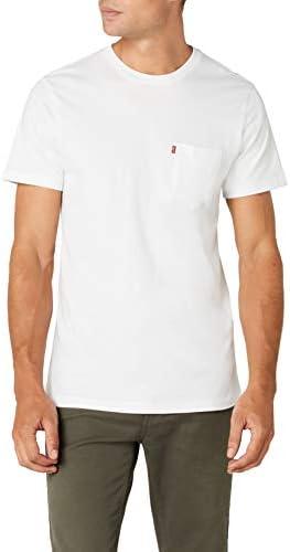 Levi's Camiseta Hombre Cuello Redondo Sunset Pocket