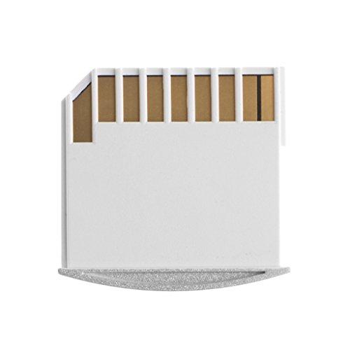 ZOUCY 1 stuk draagbare MicroSD naar SD-kaart geheugenkaart Converter adapter voor MacBook Air