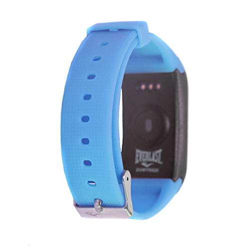 Everlast TR20 Blood Pressure, Blood Oxygen and Heart Rate Monitor Activity Tracker, Blue