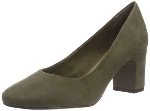 Tamaris Damen 22458-21 Pumps, Grün (Olive 722), 36 EU